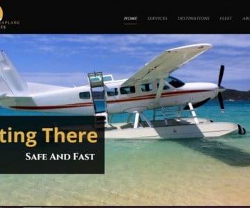 Web Design Project - Philippine Seaplane Ventures