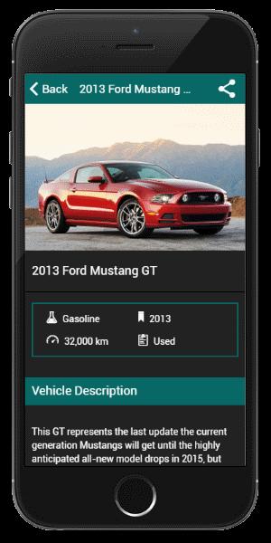 Cars 4U Product